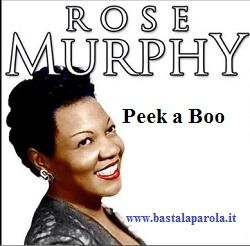 colonna sonora spot ove Rose Murphy Peek a Boo