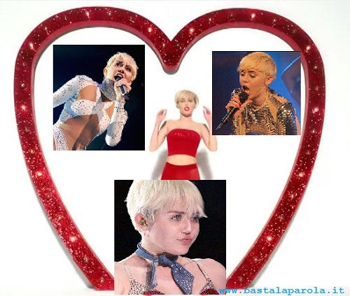 Miley Cyrus e le pajettes