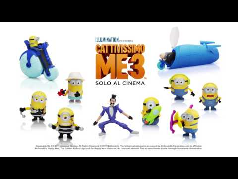 Happy Meal: Cattivissimo Me 3