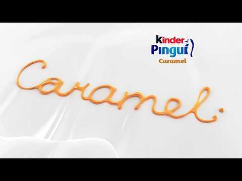 Kinder Pinguì Caramello - 6 sec