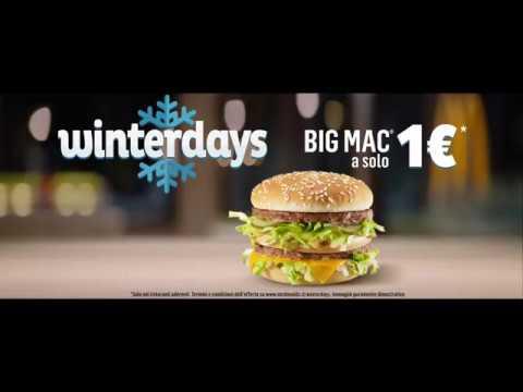 McDonald's Winterdays - Big Mac a 1€