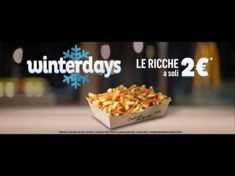 McDonald's Winterdays - Le Ricche a 2€