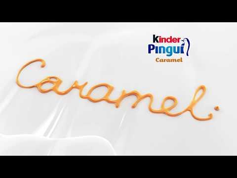 Kinder Pinguì Caramel - 6 sec