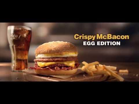 McDonald's - Crispy McBacon Egg Edition