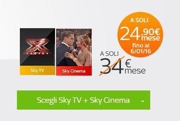 sky tv + sky cinema