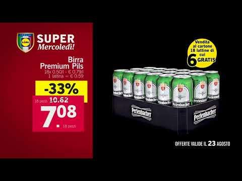 Super Mercoledì - Offerte valide da Lidl solo mercoledì 23 agosto