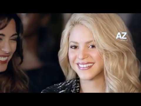 Shakira Presenta Il Dentifricio AZ 3d White. Per Un Sorriso Da Star