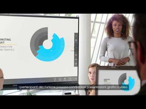 Samsung presenta: Soluzione IWB (Interactive White Board)