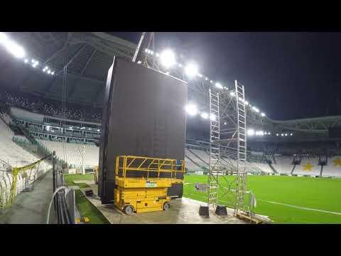 Tecnologia Samsung per il nuovo logo della Juventus