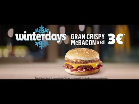 McDonald's Winterdays - Gran Crispy a 3€
