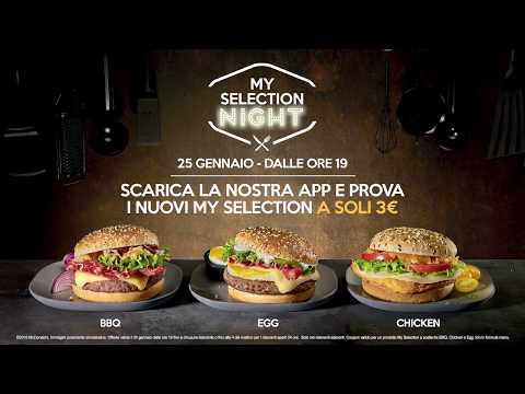 McDonald's - My Selection Night