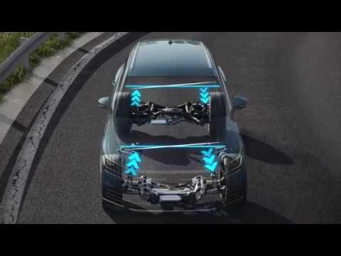 Adaptive Chassis Control con compensazione adattiva del rollio - Volkswagen 2018