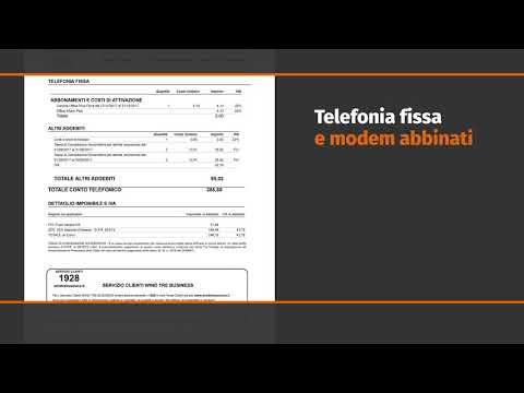 Wind Tre Business  -  Tutorial Fattura