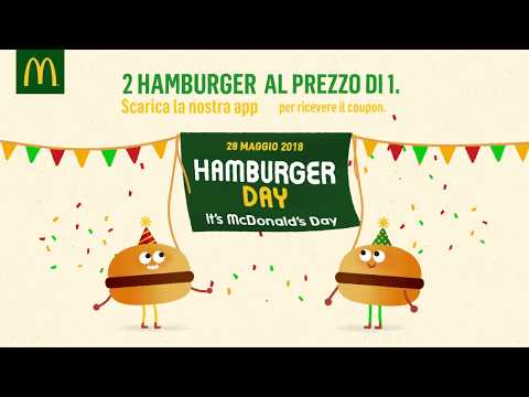 McDonald's Hamburger Day - Il festone