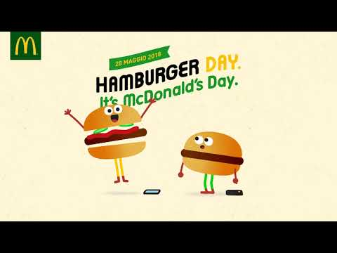 McDonald's Hamburger Day - È qui la festa?