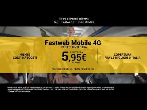Scegli la trasparenza del Mobile 4G Fastweb