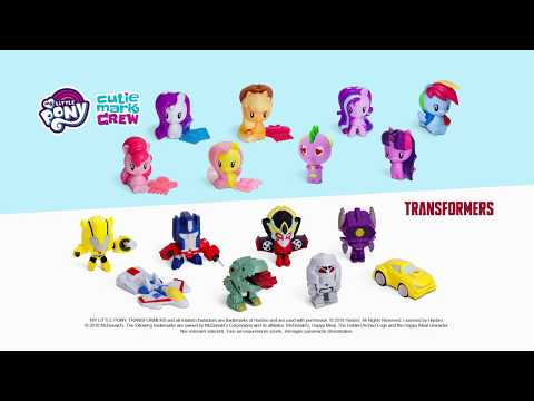 Happy Meal: My Little Pony - Transformers