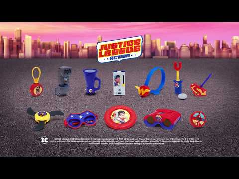 Happy Meal: Justice League