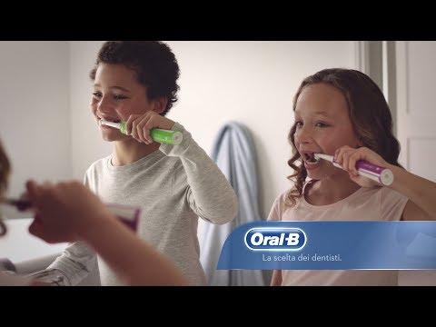 Spazzolino elettrico per bambini Oral-B Junior
