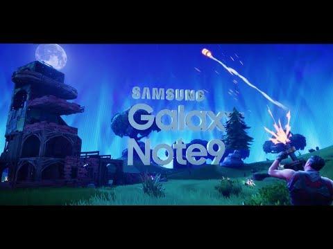 Scopri l'esperienza Fortnite su Galaxy Note9
