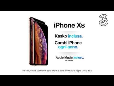 iPhone XS con 3