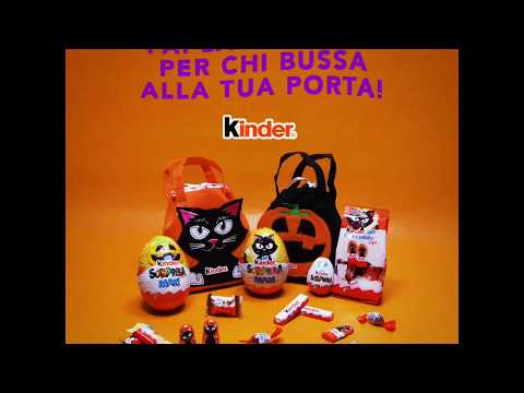 Halloween Kinder - I fantasmini volanti