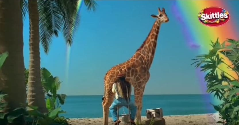skittles le caramelle della giraffa