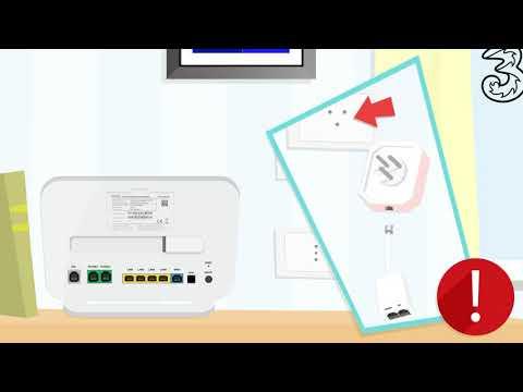 Come installare il Modem Tre HOME&LIFE HUB per navigare con l'ADSL