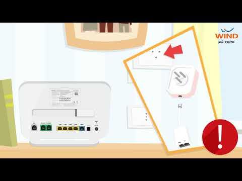 Come installare il Modem Wind HOME&LIFE HUB per navigare con l'ADSL