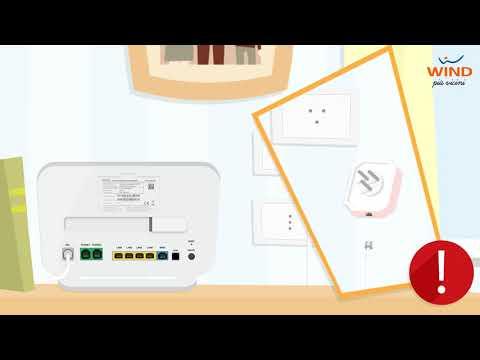Come installare il Modem Wind HOME&LIFE HUB per navigare con Internet a casa in FTTC