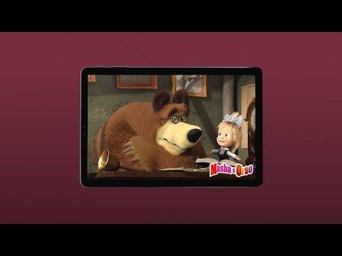 Masha e Orso in esclusiva su Galaxy Tab