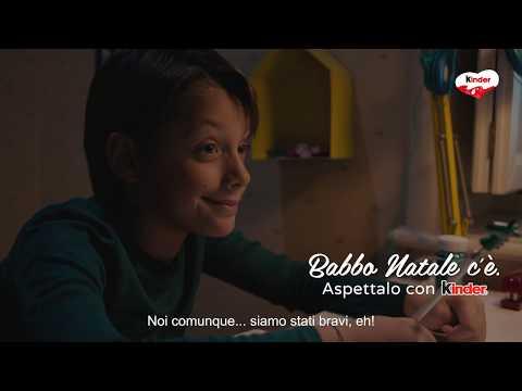 Natale 2018 Kinder - Lettera a Babbo Natale - spot 15 sec.