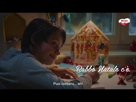 Natale 2018 Kinder - Lettera per Babbo Natale - spot 15 sec.