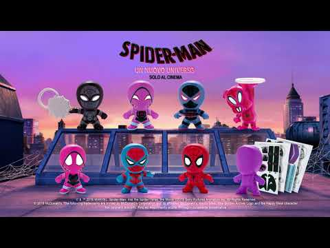 Happy Meal: Animated Spiderman