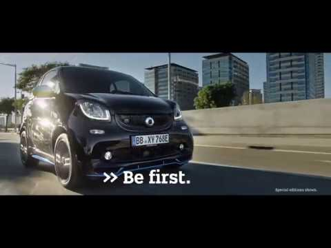 Nuova smart EQ fortwo. Be first. Drive electric.