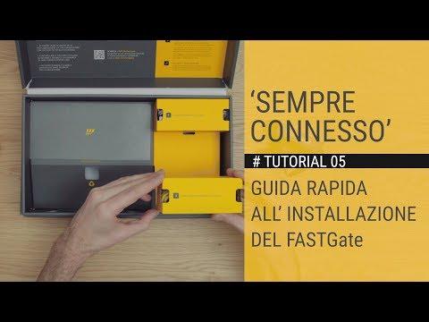 SEMPRE CONNESSO -  Guida rapida all'installazione del FASTGate