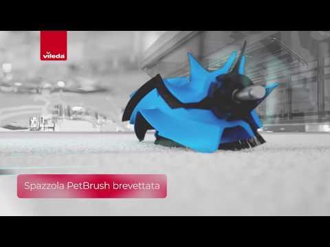 Vileda VR 201 PetPro Robot Aspirapolvere
