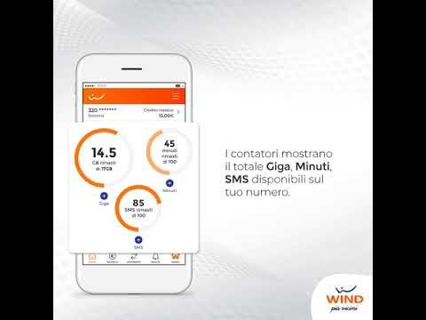 Controlla i contatori su MyWind