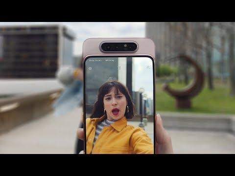 Lasciati stupire dal nuovo Galaxy A80