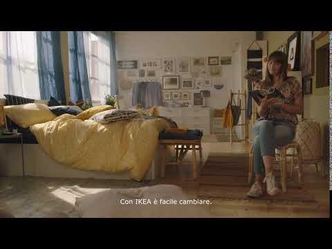 In camera da letto cambia stagione con IKEA.