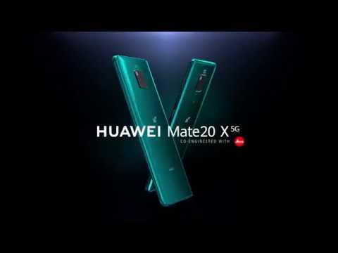 Huawei Mate 20X: il primo smartphone Huawei con 5G
