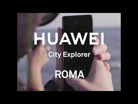 Huawei City Explorer: a Roma con Sabatini e Guindani
