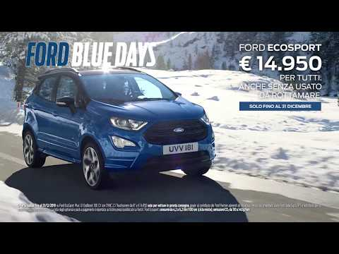Arrivano i Ford Blue Days. Ford EcoSport | Ford Italia