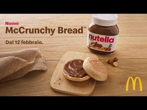 È arrivato il nuovo McCrunchy Bread™ con NUTELLA®!