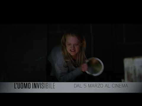 """L'UOMO INVISIBILE - Spot """"Può uccidere""""  - Dal 5 marzo 2020 al cinema"""
