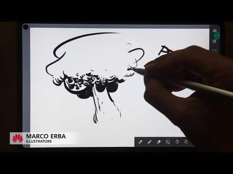 Lezioni di disegno con Huawei MatePad Pro by Marco Erba – Ep.2 LA CHINA